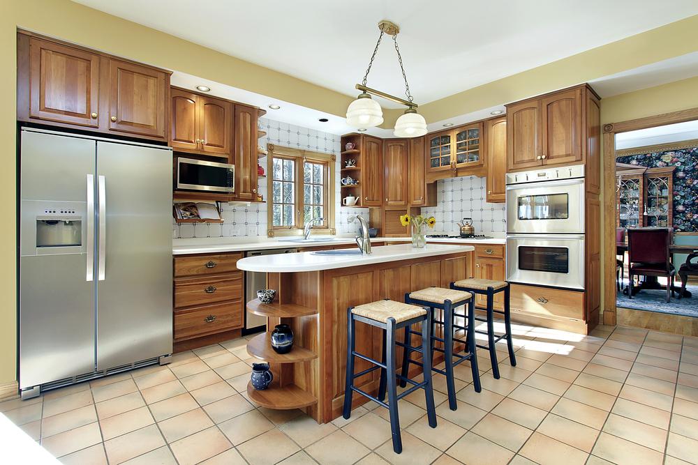 Частное фото кухни