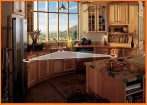 kitchen design- triangle kitchen designs jpg