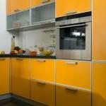arancio con aluminum frame